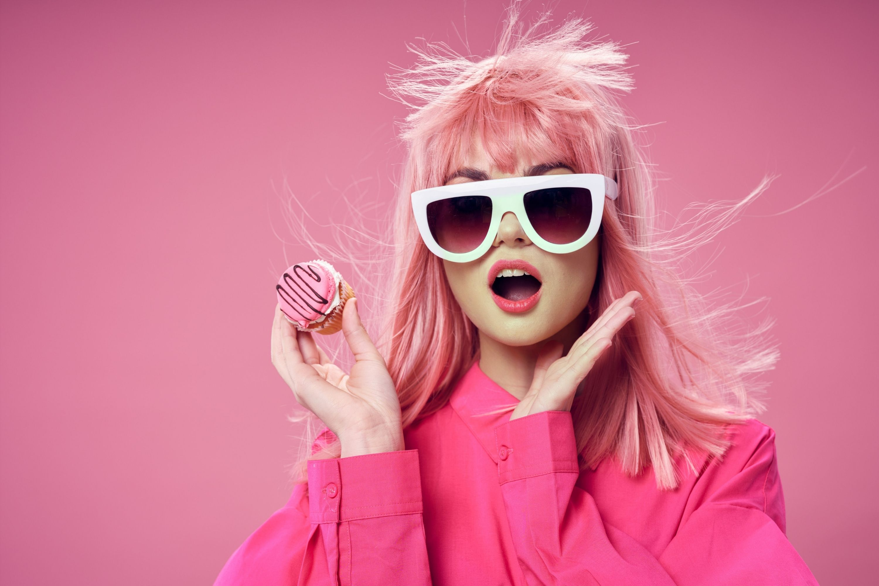 How to Dye Your Hair a Natural Color Over Pink