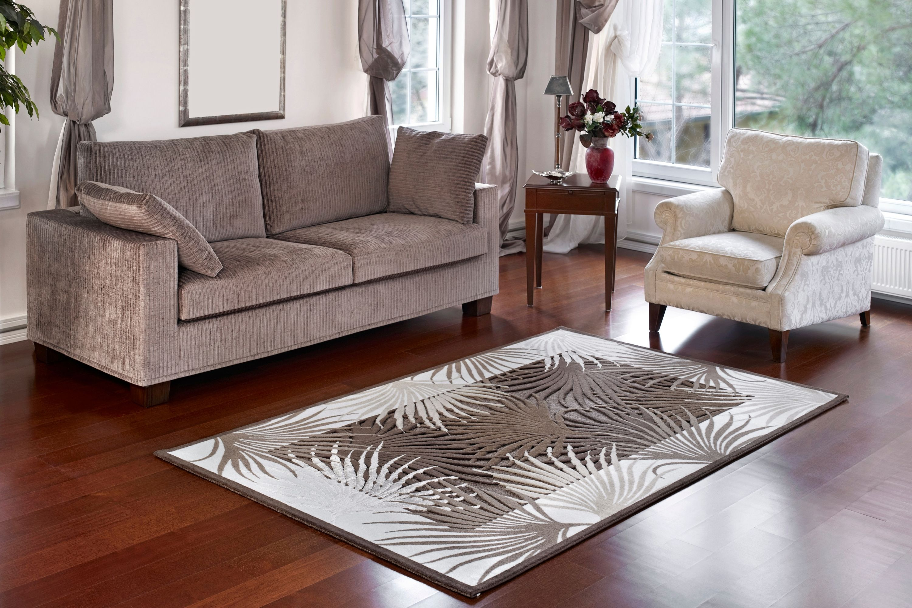 How to Turn Your Living Room Into a Piece Of Art Almost For Free rugs