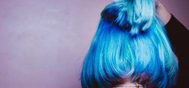 What Happens When You Bleach Blue Hair