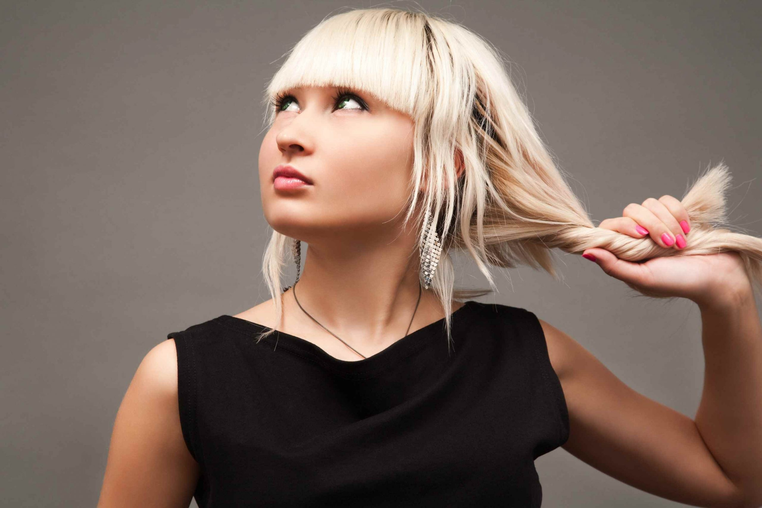 Prepping Your Mane For Turning Blonde Hair to Black